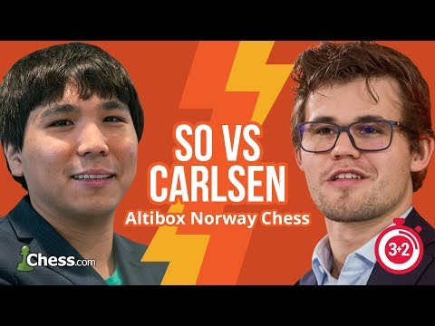 Norway Blitz Chess Tournament: So vs Carlsen