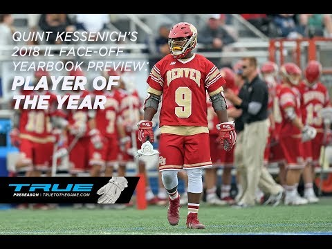 2018 PLAYER OF THE YEAR - Quint Kessenich's 2018 IL Face-Off Yearbook Preview
