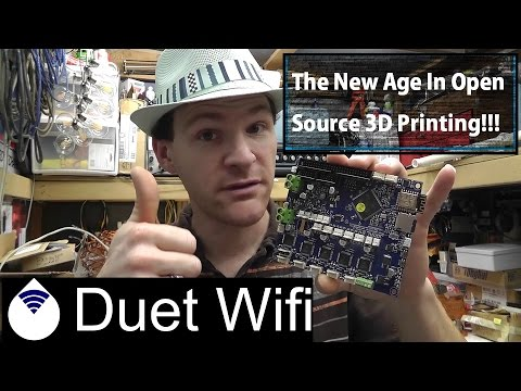 Duet Wifi First Impressions / Review, This Is The New Age In Open Source 3D Printing!!!