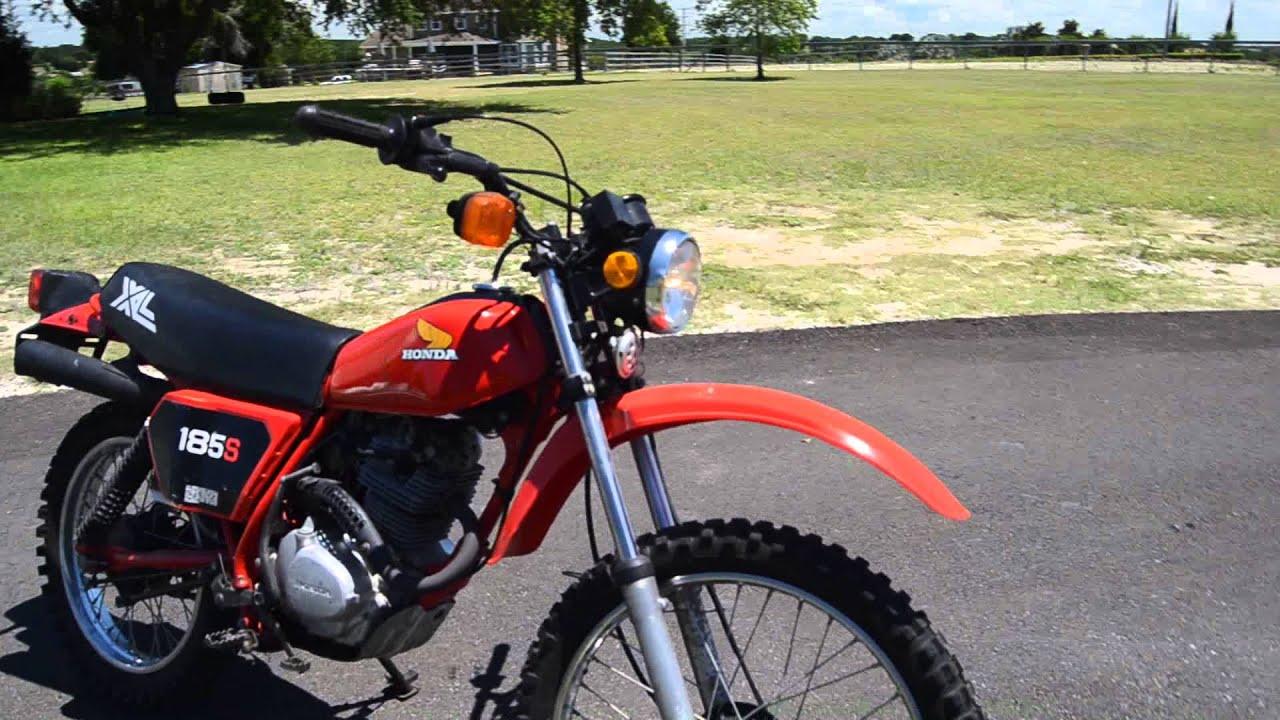 1982 Honda XL 185 for sale - YouTube