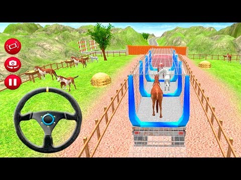 Zoo Animal Transporter Truck 3D Game by Spark Gamers Gameplay Android free games