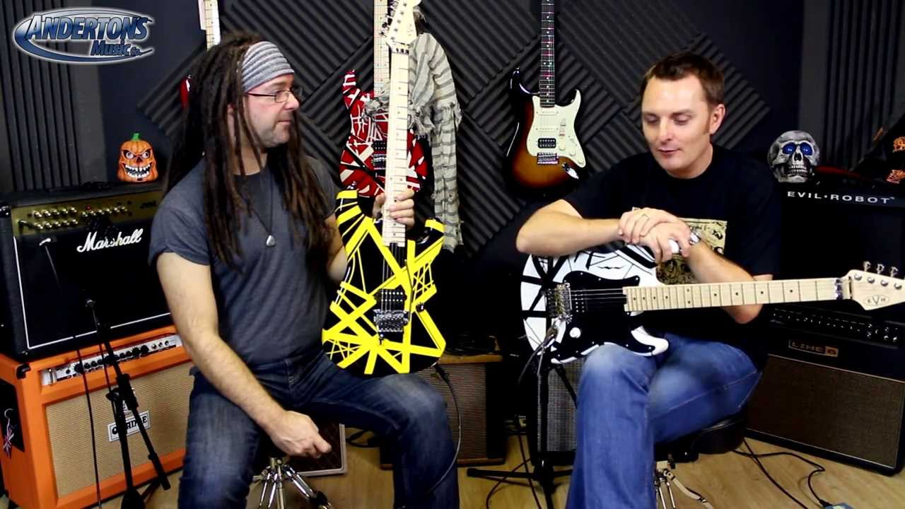 evh striped tribute guitars new for 2013 youtube. Black Bedroom Furniture Sets. Home Design Ideas