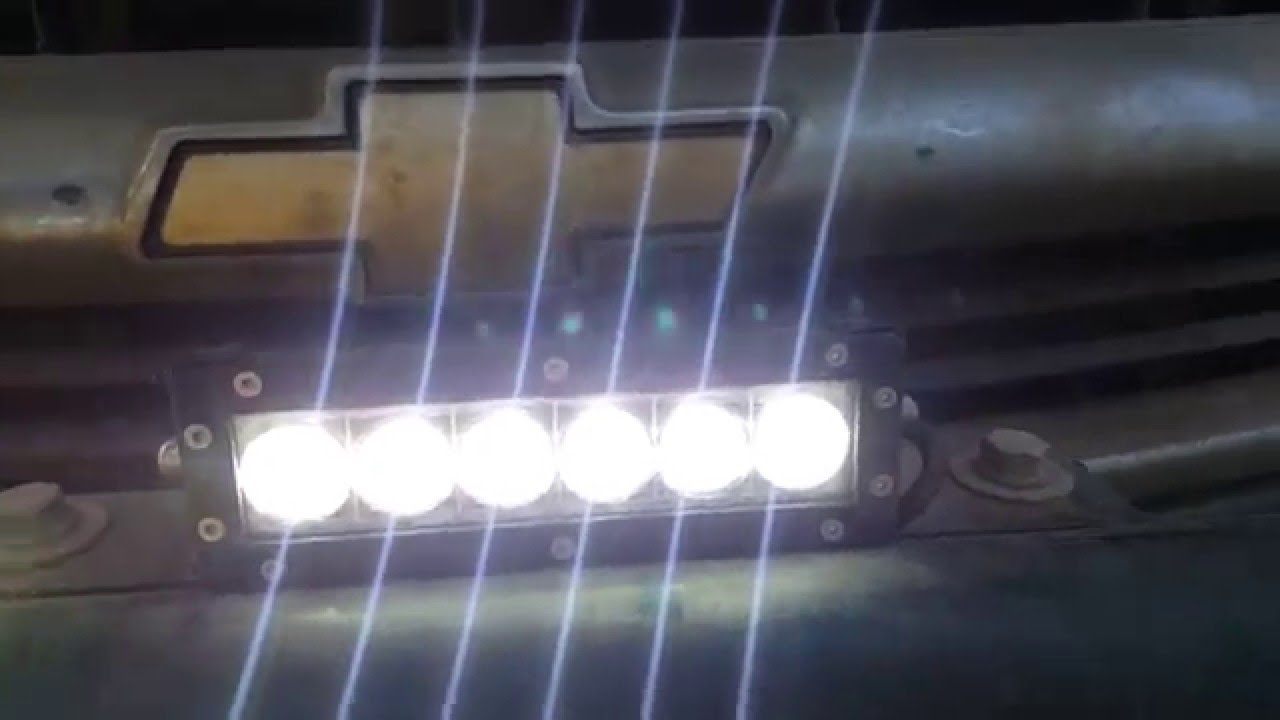 6 Anzo Led Light Bar Wiring Instalation Youtube Epistar Diagram