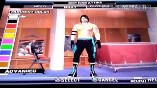 wwe svr2011 PS2 Comment créer AJ Styles Royal Rumble nouveau tca