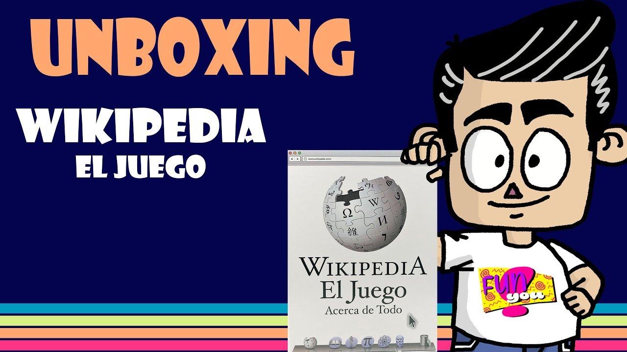 Unboxing Juego De Mesa Wikipedia Youtube