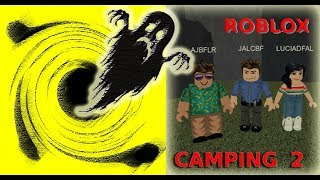 CAMPING GHOST - ROBLOX!!!!!