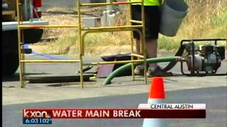 Water main break on Airport Boulevard - 6 pm News