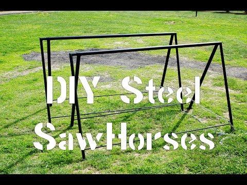 DIY Steel SawHorses