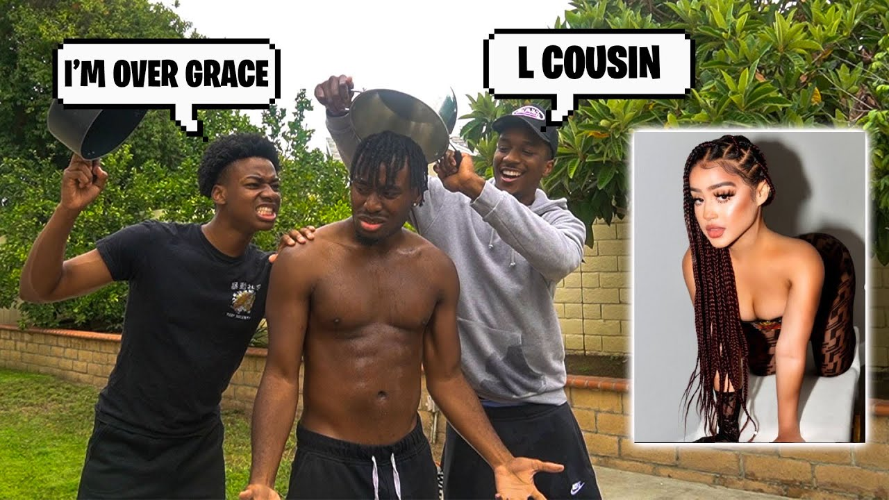DomDomTV Pulls Up to P2istheName House To FIGHT him for KISSING Grace Henderson!??! (It's Over)