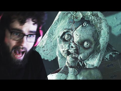 THE CREEPY DOLL IS WORSE THAN I THOUGHT (RESIDENT EVIL VILLAGE PART 4)