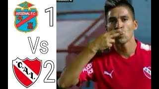 Video Gol Pertandingan Arsenal Sarandi vs Independiente