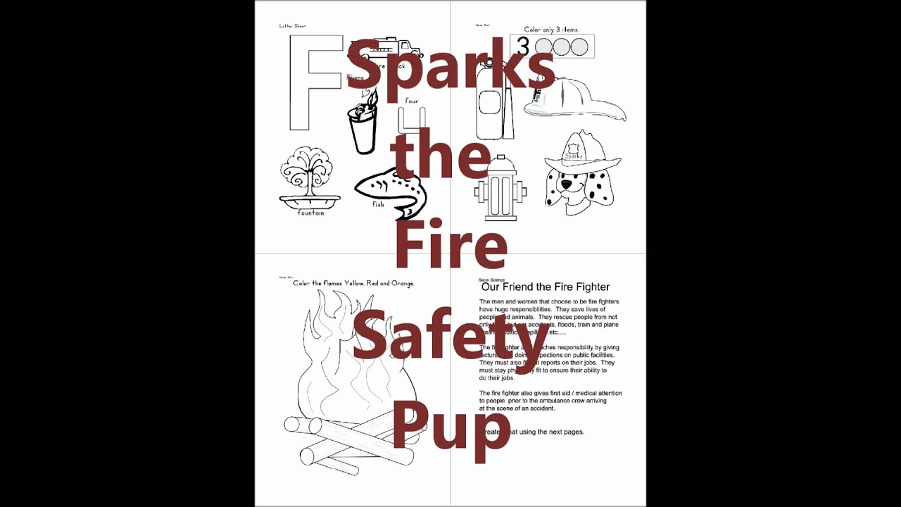 Sparks The Fire Safety Pup