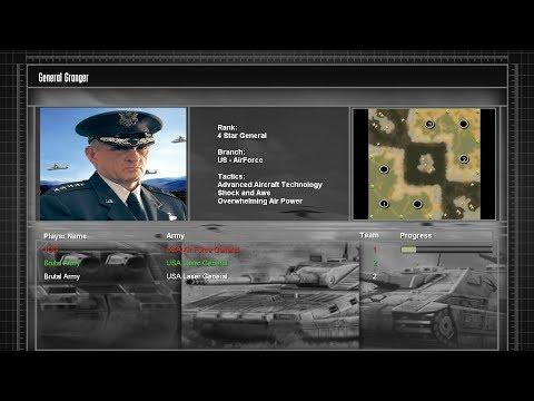 Untitled Mod: Airforce General vs Laser Generals