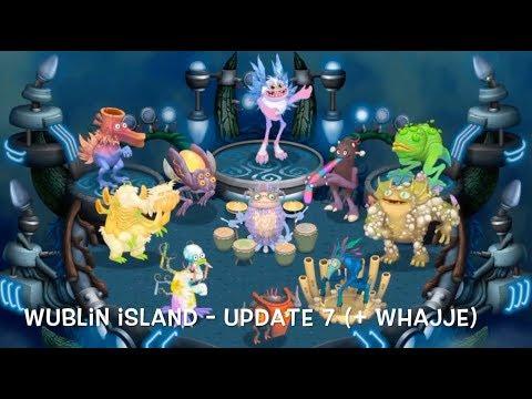 My Singing Monsters - Wublin Island Evolution (Full Songs) (Update 1-16)