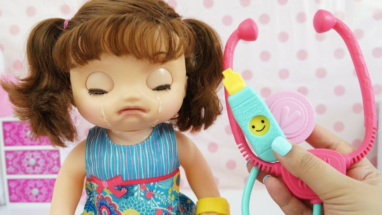 Baby Alive Que Chora De Verdade Nova Bebe Doces Lagrimas Lancamento 2017 Brinquedos Kidstoys Youtube