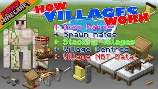 NEW VILLAGE MECHANICS | Tutorial Guide | Minecraft Bedrock Edition Iron Farm Help (MCBE)