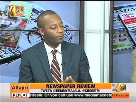 Newpaper Review Discussion About Rift Valley Politics