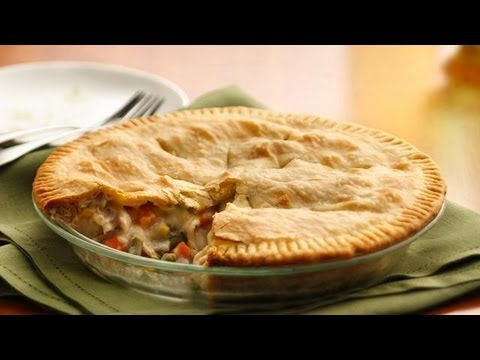 Easy Recipes for Chicken Pot Pie - YouTube