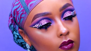 how to be extra unicorn prom makeup   fleek by ahliyah