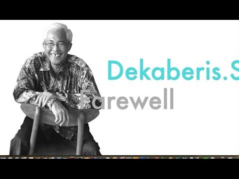 Farewell Video - Mr. Dekaberis ( chief designer of Bata Indonesia )