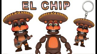 Five Nights at Freddy's Funko (pt 6) EL CHIP BEAVER - Articulated Figure, POP & Keychain Review 2018