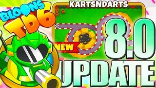 NEW!! UPDATE 8.0 | 3D MOAB-Class | #136 | Bloons TD6 PL HD