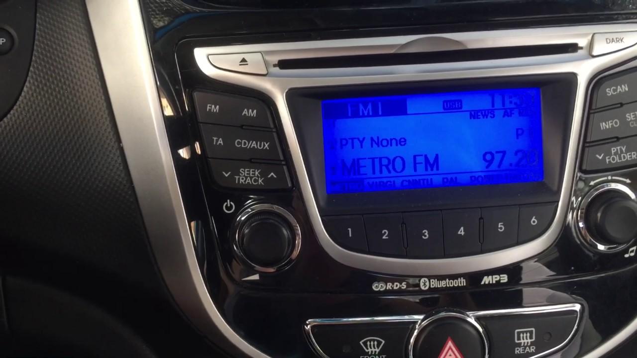 Hyundai Accent Blue Bluetooth Eşleştirme [TÜRKÇE]