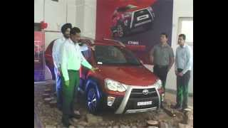 Toyota Cross mini suv  car launching in indore