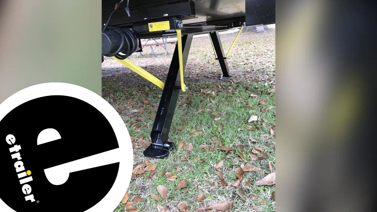 Lippert High-Speed Power Stabilizer Jack Review - etrailer com