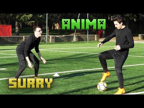 SURRY CONTRO ANIMA SUL CAMPO DA CALCIO (con Ronaldo)