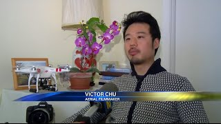 News 12 interviews Victor Chu about his New York City Aerial Video