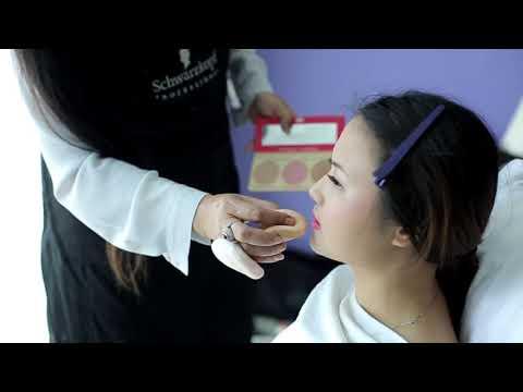 Phuket Makeup Artist Service  : Li Na + Qi Wanlian