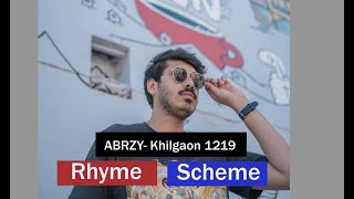 ABRZY- Khilgaon 1219 Rhyme Scheme Lyric video (Bangladesh)
