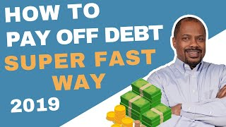 How To Start PAYING OFF DEBT and GET OUT of DEBT? Super FAST Strategy in just MONTHS!