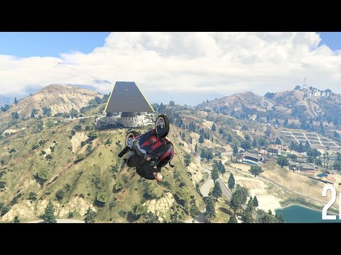 GTA 5 #358 INFINITE GLIDE I RACE