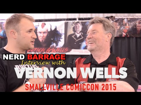 Interview with Vernon Wells Smallville ComicCon 2015