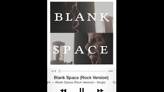 """Taylor Swift - """"Blank Space"""" Cover by Our Last Night [Official Lyrical Video]"""