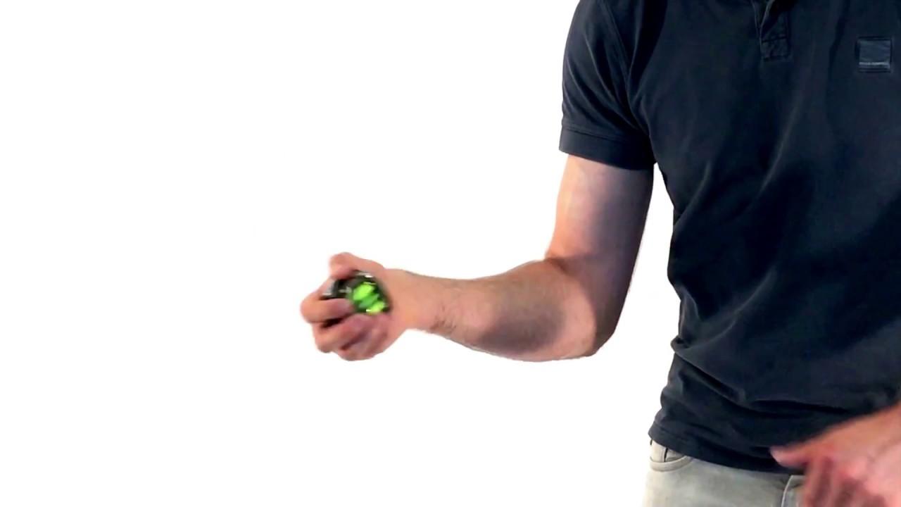 Biceps Oefening Met De Powerball Spinner Youtube