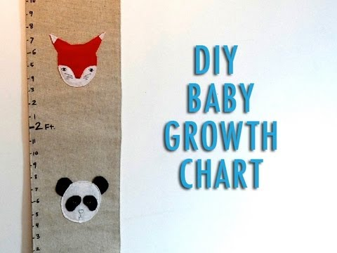 DIY Baby Growth Chart - YouTube