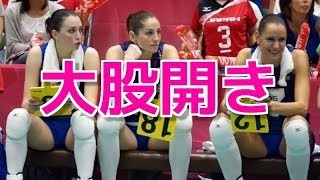 18禁】ロシア女子バレー選手のス...