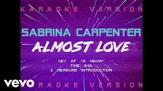 sabrina carpenter almost love official lyric video