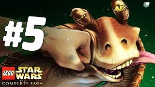 ЗАХВАТ ДВОРЦА! - Lego Star Wars: The Complete Saga Прохождение - Часть 5