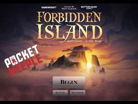 Forbidden Island (iOS) - Pocket Meeple Plays