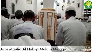 Acara Maulid Al Habsyi Pondok Pesantren Raudlatul Muta'allimin Malam Minggu