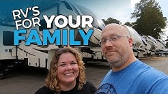 NEW Grand Design RV BUNK MODELS | Tour 9 Family RV's With Us!