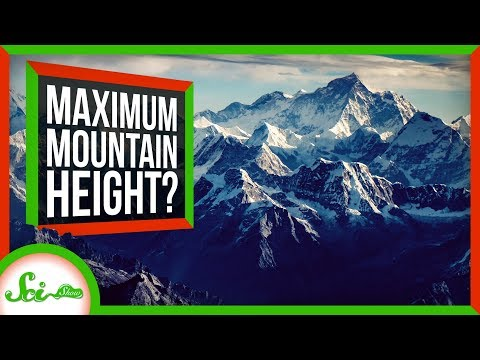 How Tall Can Mountains Get?
