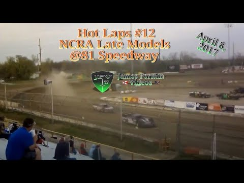 NCRA Late Model Hot Laps #1, 81 Speedway, 2017
