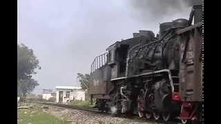 Steam of Guangxi 81 FerroAlloy Railway(Sep.2003) 2 中国・広西八一鉄合金総廠鉄道の蒸気機関車(2003年9月)2