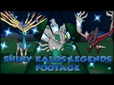 how to get shiny pokemon in pokemon x