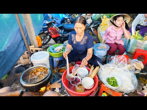 HUGE Street Food Tour of VIETNAM | MOST UNIQUE Street Food i